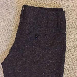 Gorgeous brown tweed-like trousers